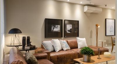Living casa decorada