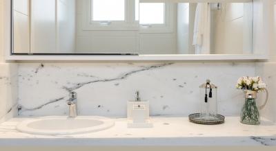Banheiro suíte casa decorada